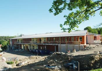 Sommarhemsskolan sparar energi med ny teknik