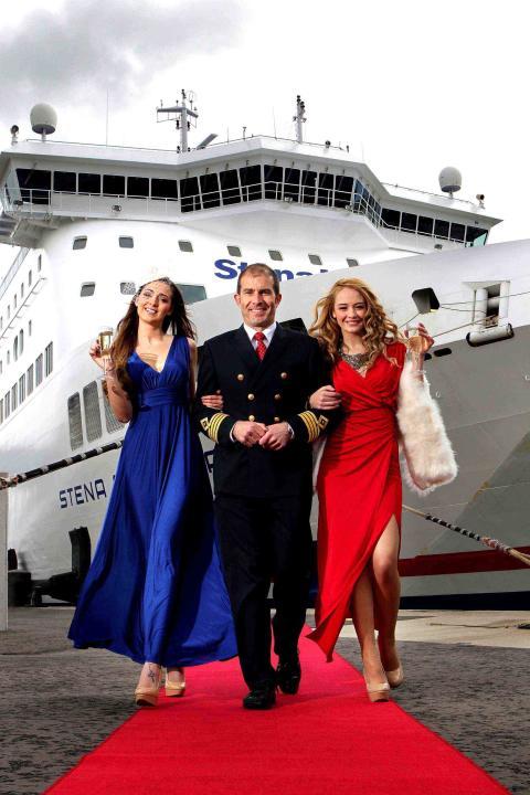 Stena Line ladies in cruise control