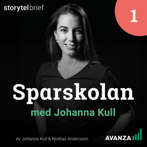 Omslag: Sparskolan med Johanna Kull, av Johanna Kull & Nicklas Andersson.
