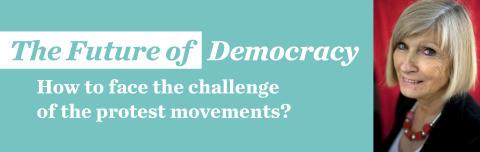 Vad betyder occupy-rörelsen för demokratins framtid? Välkommen till ett seminarium med Chantal Mouffe