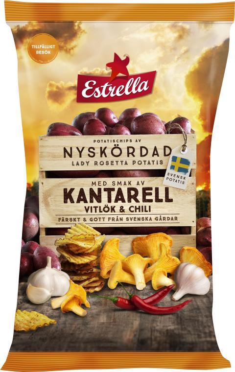 Estrella Limited Edition Kantarell, Vitlök & Chili Hösten 2019
