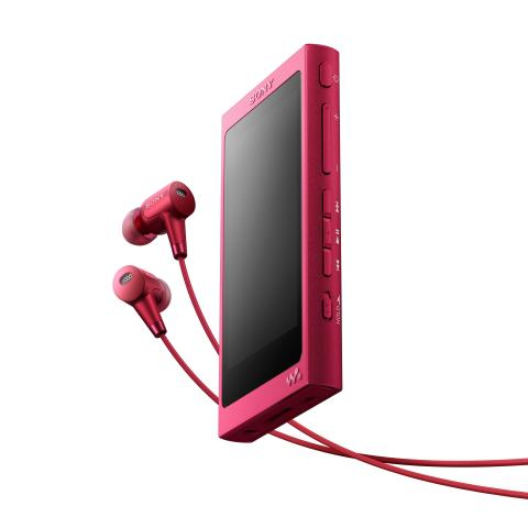 WALKMAN NW-A35HN von Sony_bordeauxpink_5