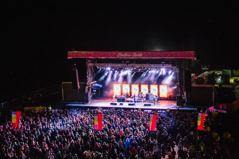 Electrifying boost for Scottish events