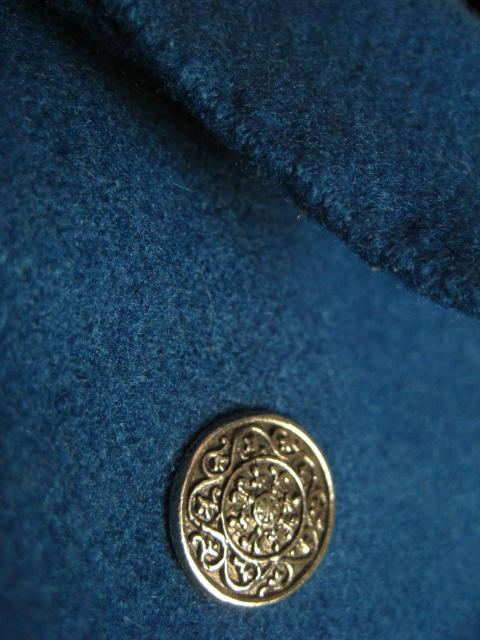 Emma Frost - detaljbild på spencerjacka