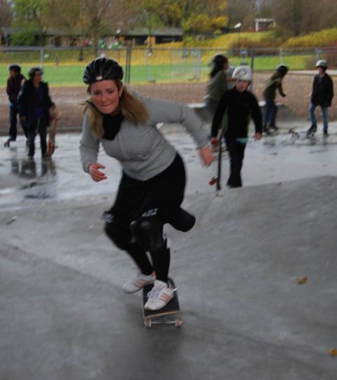 Regina Kevius: Ny skatepark för Stockholms unga