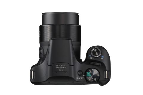 Canon PowerShot SX540 HS ovanifrån