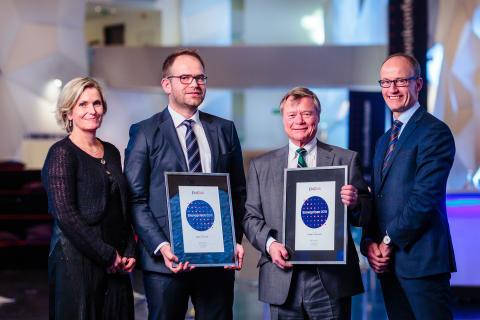 Risikovillige pådrivere i Yara og Norgesgruppen vant Enovaprisen