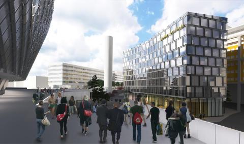 Arcona bygger nytt hotell vid Globen