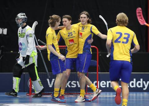 U19-herrarna inledde Finnkampen med storseger