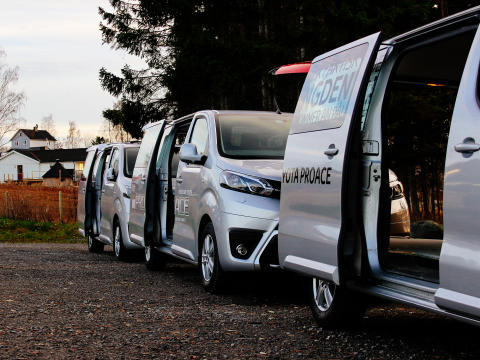 Derfor er Toyota Proace en god arbeidsbil