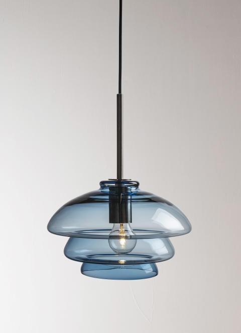 Arkivlampe 4006 stålblå