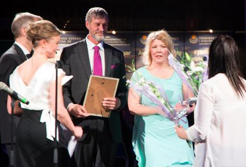 """Vinanre av Tyrénspriset """"Stort intryck – Litet avtryck"""" 2014 är Kiruna Lappland"""