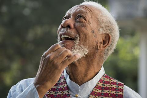 Morgan Freeman i Nepal