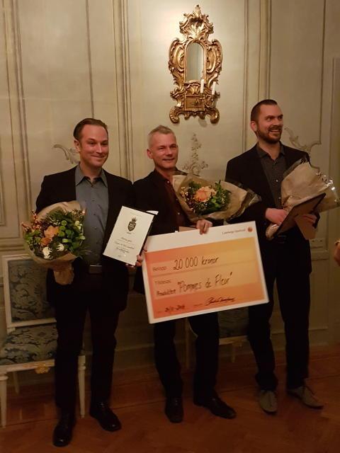 Äppellikör med smak av renfana och lakritsrot vann Matverk Närke 2017