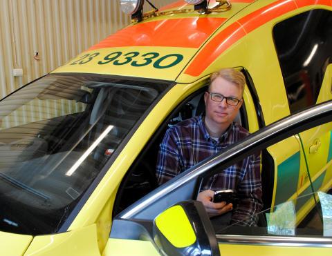 Ny app hjälper ambulanspersonalen att vara uppdaterad på det senaste