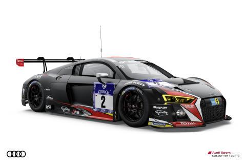 Audi R8 LMS 2 Belgian Audi Club Team WRT Edward Sandström