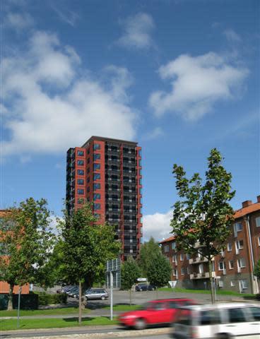 Centralt höghus - nytt landmärke i Hässleholm