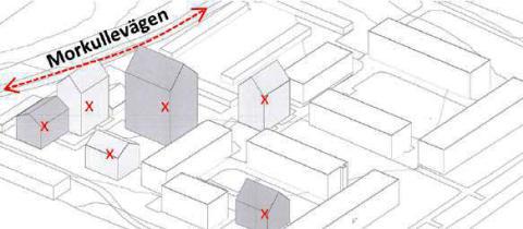 Planarbete för 140 mindre lägenheter på Mariehem