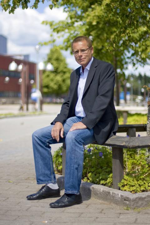 Stefan Cronholm, professor vid Handels- och IT-högskolan, Högskolan i Borås
