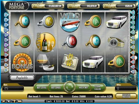 €71,019 Mega Fortune jackpot won at Vera&John