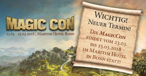 Die MagicCon 2018 hat einen neuen Termin!