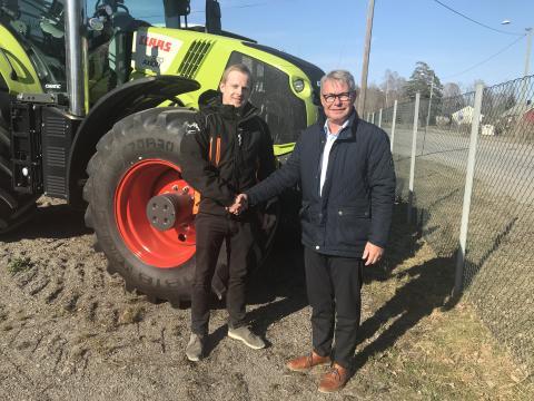 Trond Widar Løyning og Michael Husfeldt