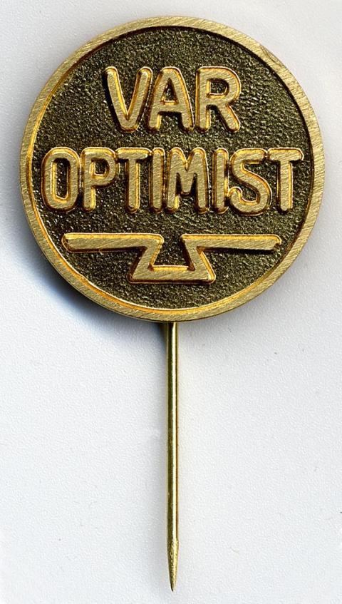 """Gustaf Daléns """"Optimistnål""""."""