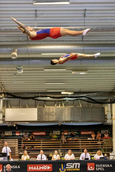 SM-kval i trampolin och DMT 2019
