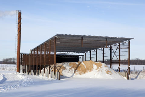 Biobränsleanläggning till Trolleholms Gods 4.