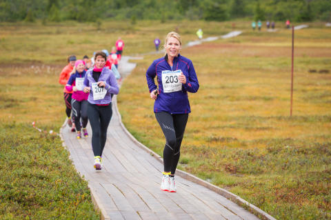 Norges fineste terrengløp - kun for damer