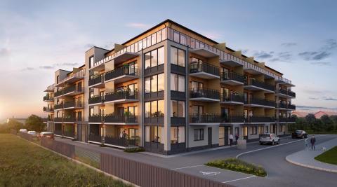 Nu säljstartar HSB den sista bostadsrättsföreningen i Folkets Park, HSB brf Spelmannen
