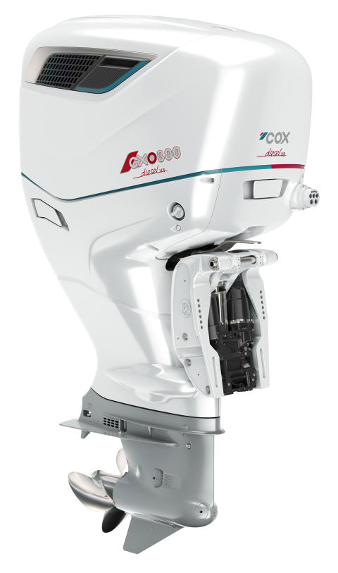 High res image - Cox Powertrain - CXO300 final production render