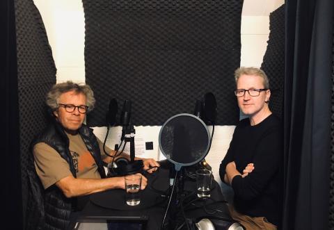 Motorjournalisterna Robert Collin och Jane-Erik Berggren