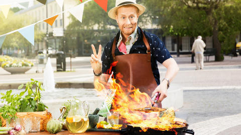 Smakfestival på Vällingby Torg