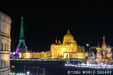 Tobu World Square Illumination(2)
