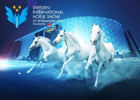 Succéförsäljning för Sweden International Horse Show på Friends Arena
