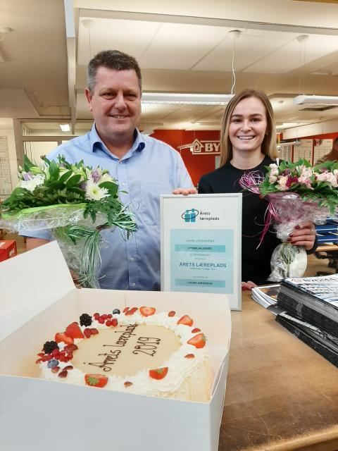 Bygma Hillerød er udnævnt til Årets Læreplads 2019