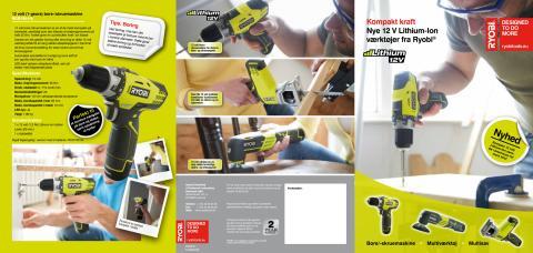 Ryobi 12 volt brochure