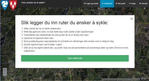 Sykkelplanlegging i Ski og Ås kommune – med «Pedaltråkk»