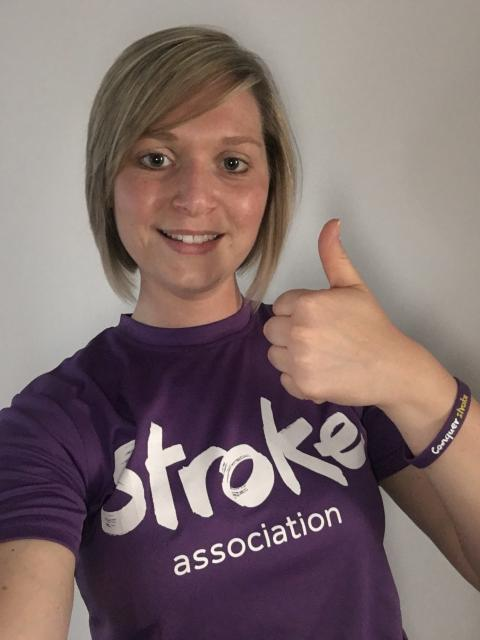 ​Kidderminster woman tackles Great Birmingham Run for the Stroke Association