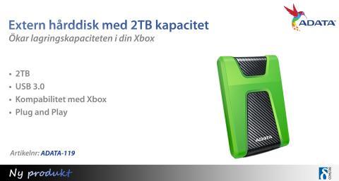 Öka lagringskapaciteten i din spelkonsol!
