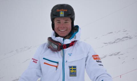 Walter Wallberg klar för OS