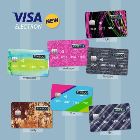 Fineco, arrivano le nuove carte prepagate Visa