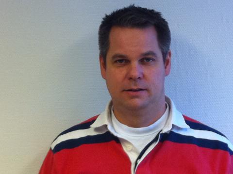 Karl Hultman, sjef for forretningsområde kabel i Otera