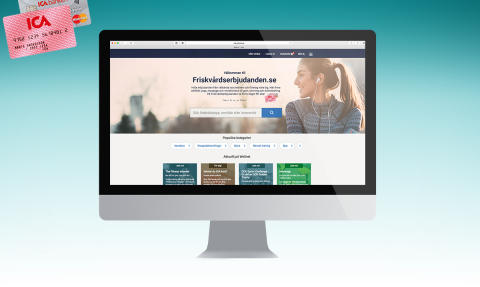 Friskvårdserbjudanden.se – det nya namnet på hälsoportalen för alla med ICA-kort