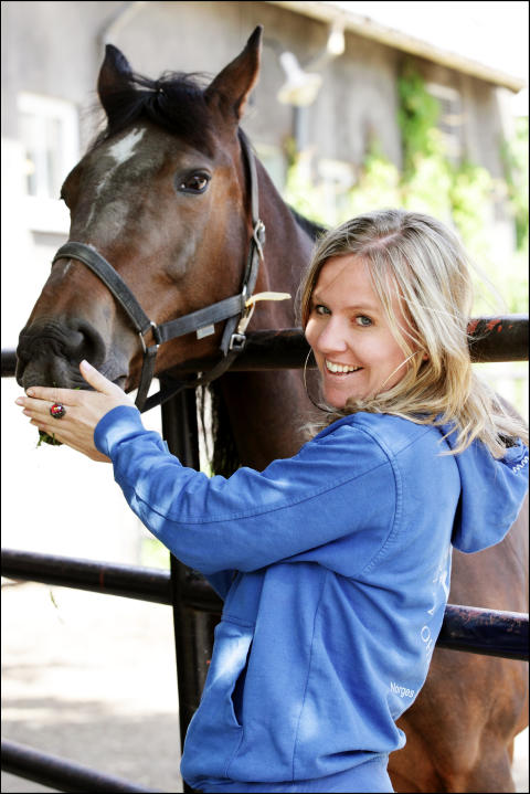 Anne Viken debuterer med hestebok