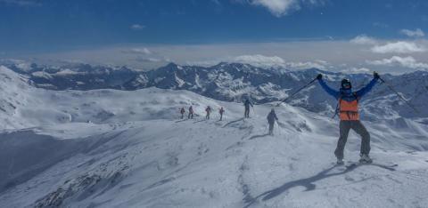 Skitouren-Kurs für Einsteiger in Andermatt