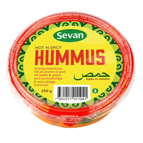 Hummus Hot n´ Spicy
