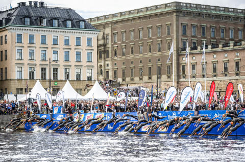 Triathlon World Championship in Stockholm