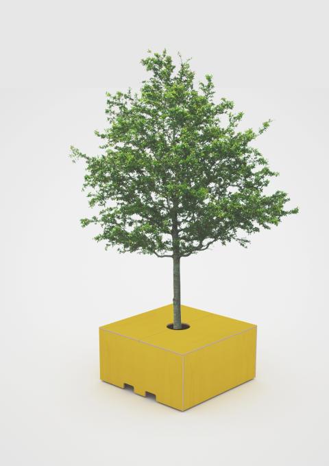 Trädlåda